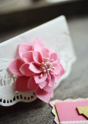 Valentine Envelope Flower